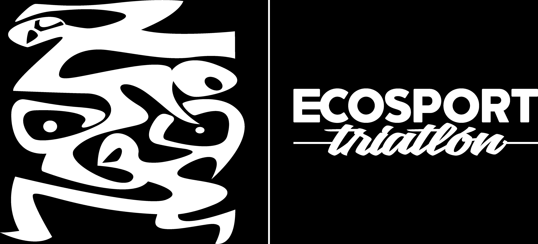 Ecosport Triatlón Logo artistico